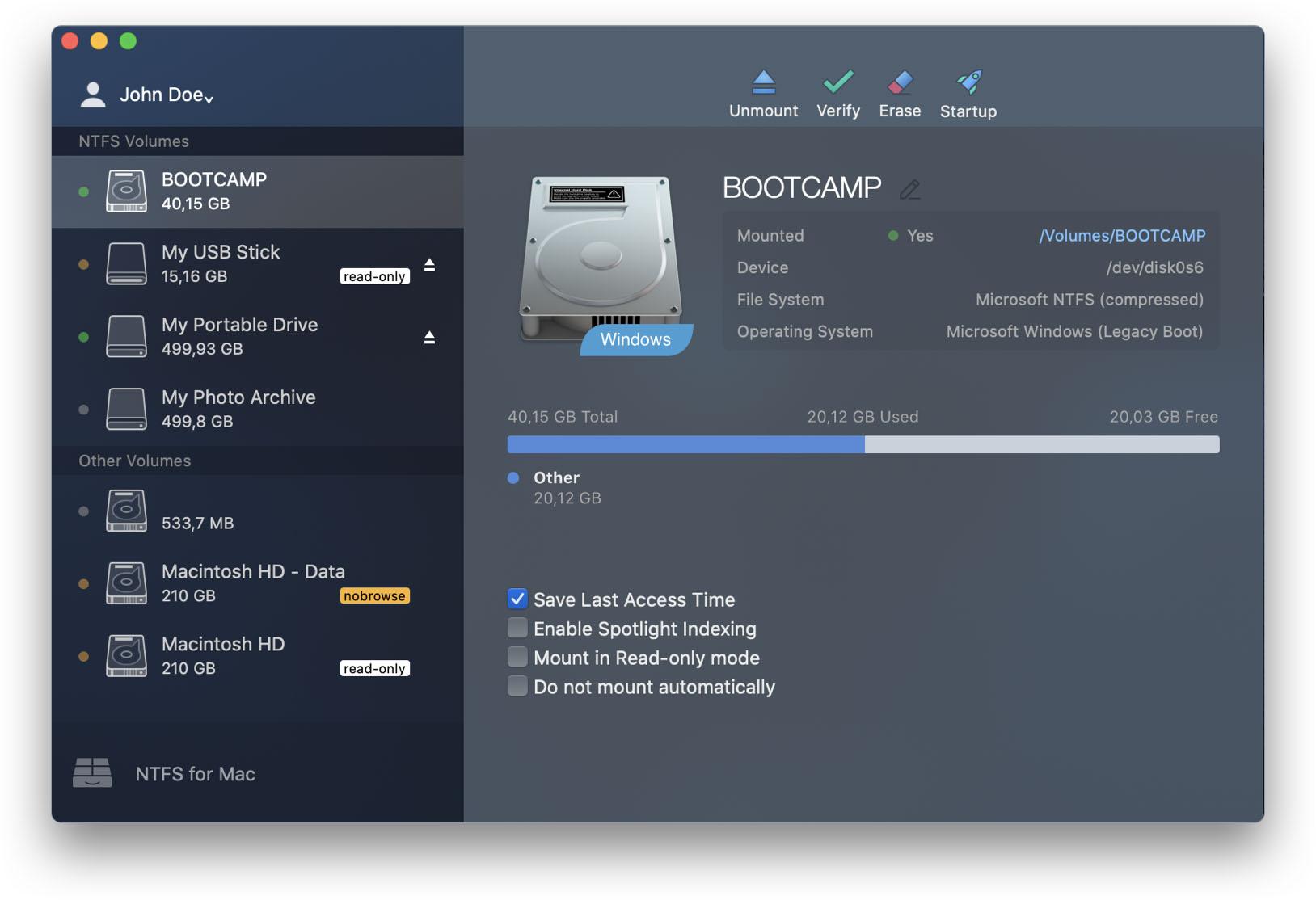 Cách chép dữ liệu từ Macbook vào ổ cứng bằng Paragon NTFS for Mac